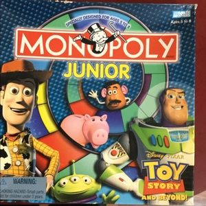 Toy Story Monopoly game